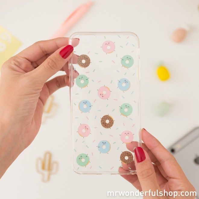 Carcasa para iPhone 6/6S Plus - Rosquillas #mrwonderfulshop #phone #iphone #accessories #complements
