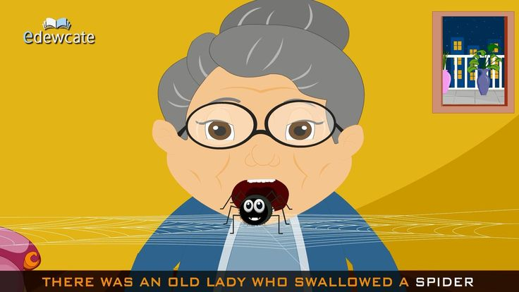 Edewcate english rhymes - There was an old lady who swallowed a fly