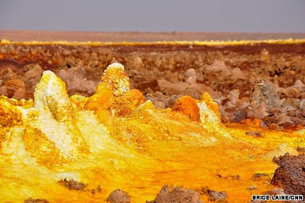 "Visit Danakil Depression: ""The hottest place on earth"" #Ethiopia"