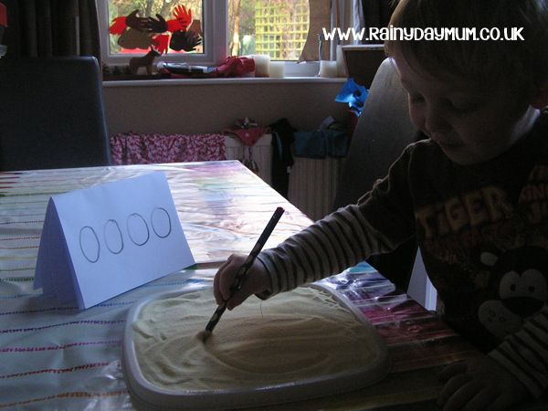 mark making with pencils developing preschool writing skills