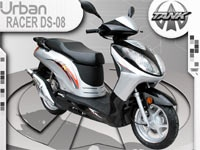 Racer DS DS-08 150cc Gas Motor Scooter