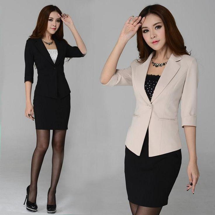 trajes formales para dama