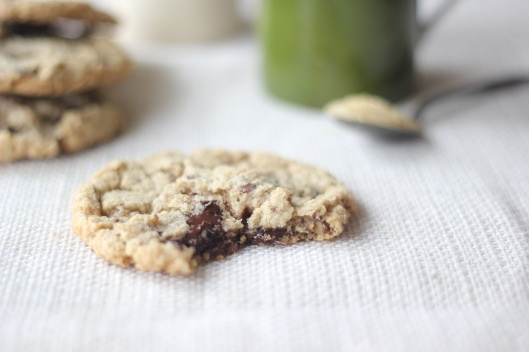 ... Chocolate and Toasted Pecan Cookies w/Browned Butter (gluten-fre