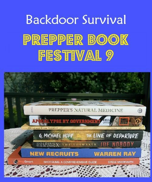 Prepper Book Festival 9 has arrived!  Lots of terrific new books for your reading pleasure! | Backdoor Survival