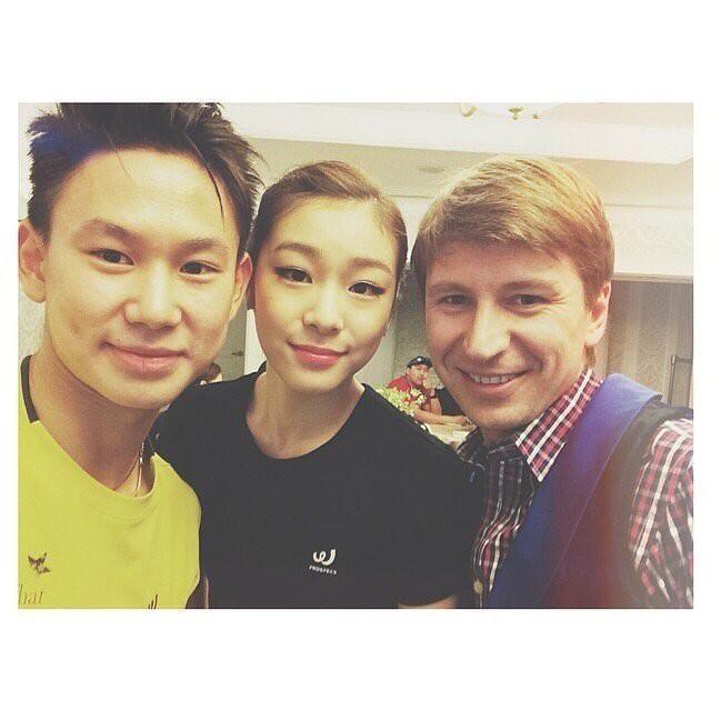 Королева льда-Юна Ким и нереально талантливый Денис Тэн pic.twitter.com/7q86tAtbXr
