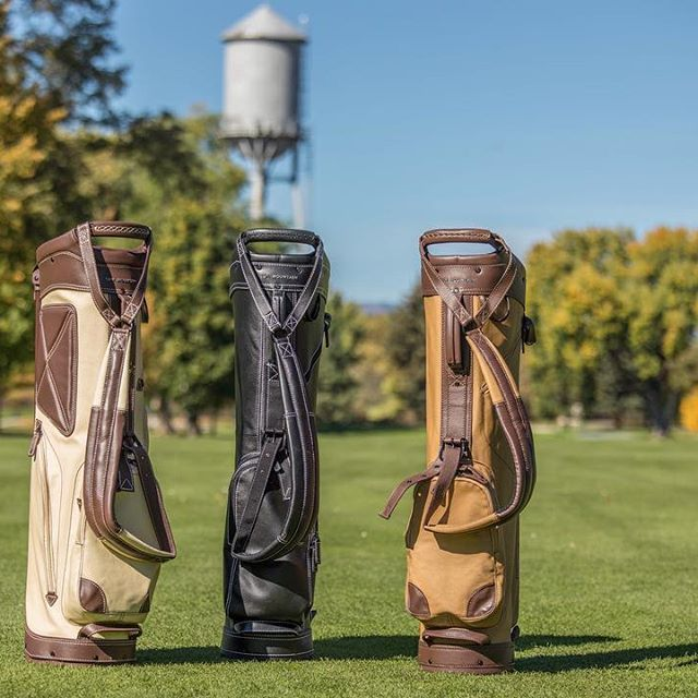 25++ Canvas and leather golf bag info