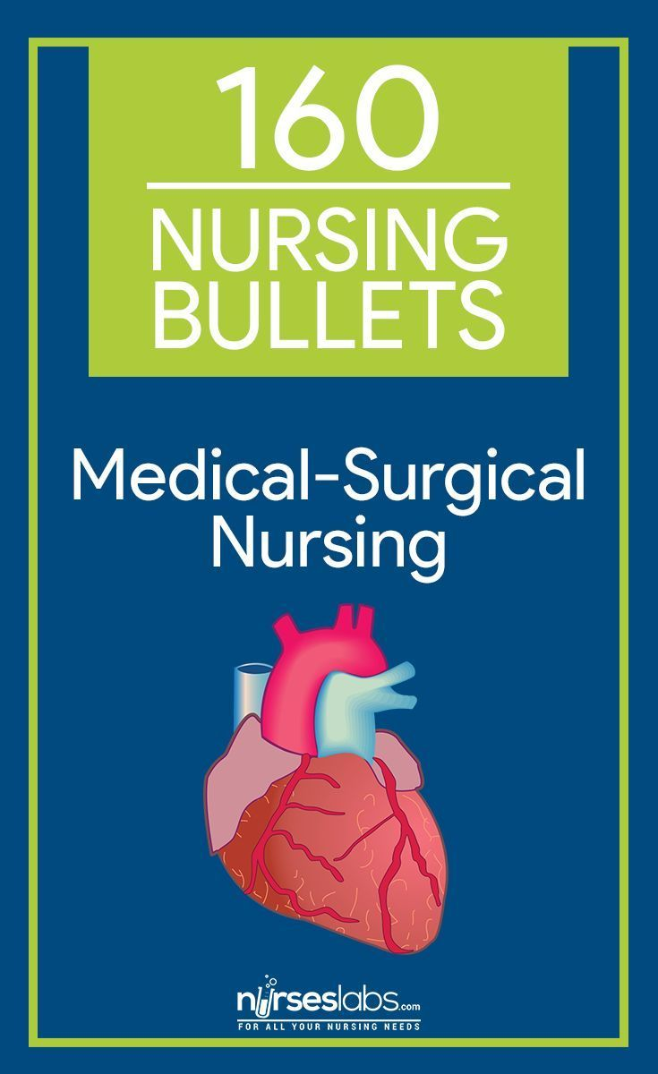 160 Nursing Bullets Medical Surgical Nursing Reviewer School