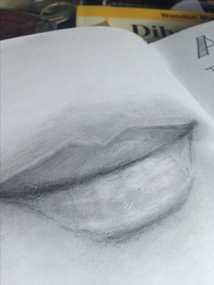 Mouth 3 Drawing Practice by T Saldaña