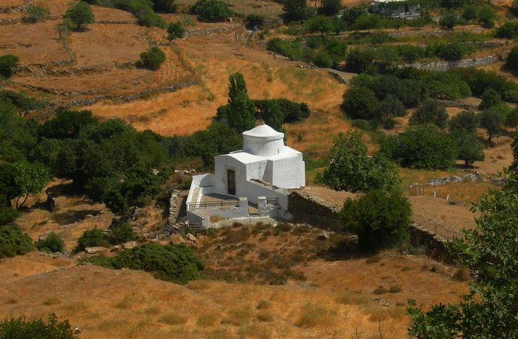 We ♥ Greece | Country church at Apeiranthos, Naxos island #Greece #travel #explore #destination
