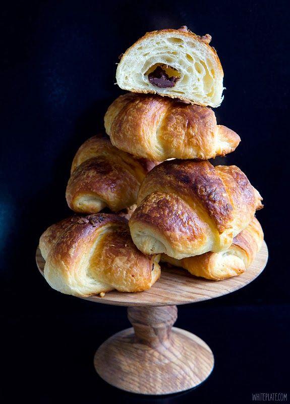 Croissants | White Plate