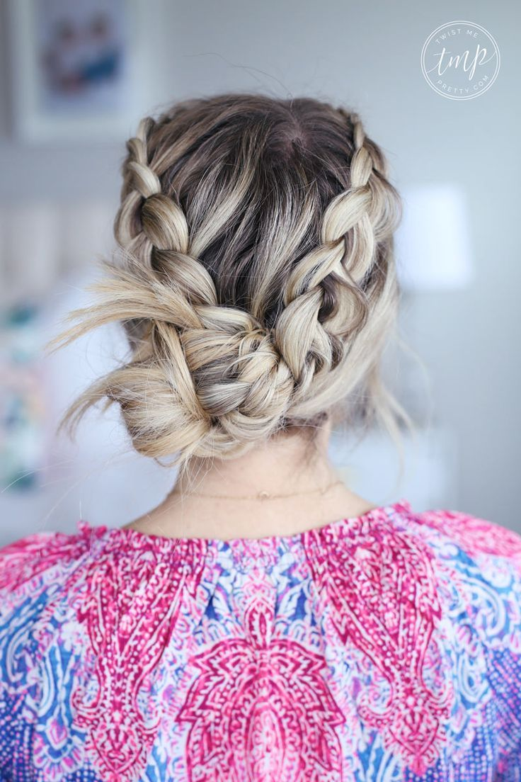 Braided Bohemian Bun Hair Tutorials And Style Inspiration