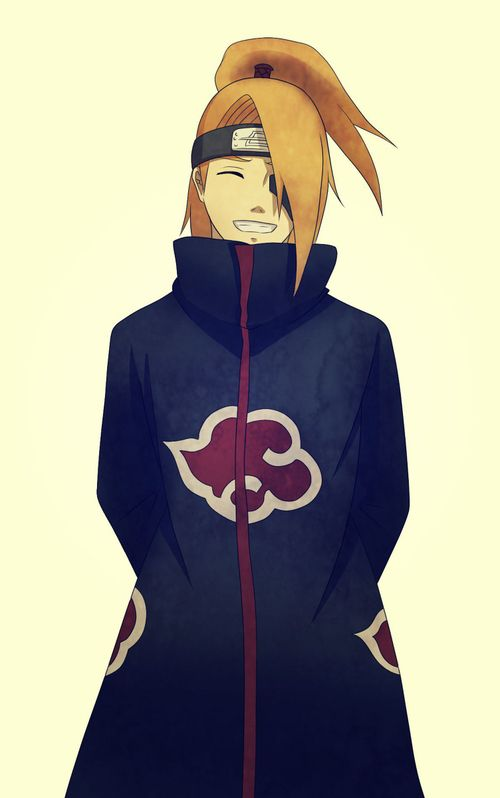 Deidara :3 this is the best!