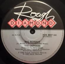 BIG RONNIE / 19TH NERVOUS BREAKDOWN / BIG RONNIE (LIVE) | ORPHANS | 7 inch single | music4collectors.com