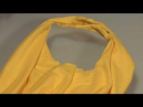 DIY: No Sew Handbag Out of Your Old T-Shirt - AllDayChic