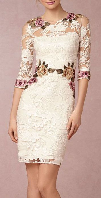 DesertRose:::Gabrielle Embroidered Dress