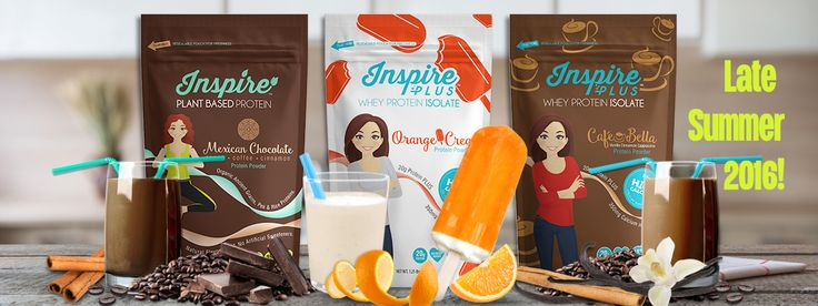 Inspire Protein Powder - pure whey isolate with natural flavors