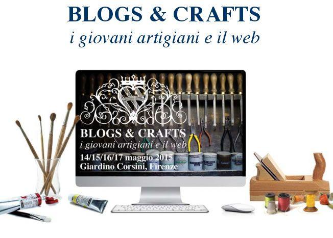 Torna anche quest'anno #blogsandcrafts  il concorso di @MostraAeP rivolto a giovani #artigiani e #bloggers  http://omaventiquaranta.blogspot.it/2015/02/blogs-ad-artigianato-e-palazzo-2015.html