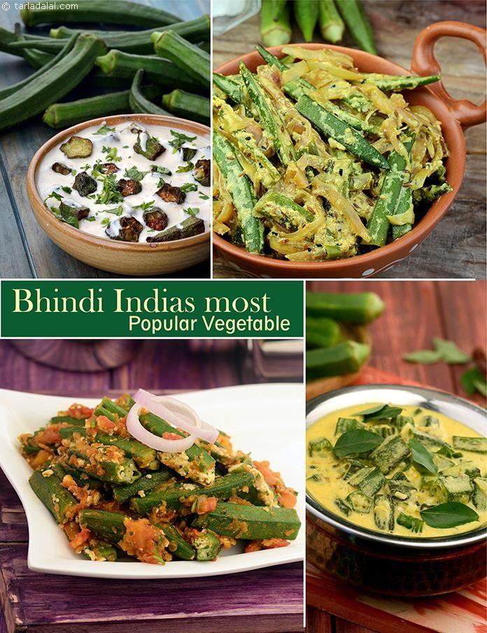 Top 10 Bhindi Recipes   TarlaDalal.com   #86