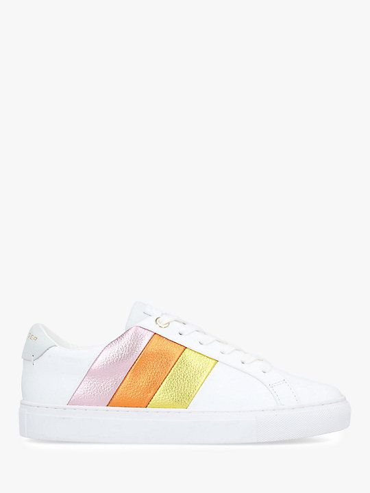 5075c1509c802 Kurt Geiger London Lane Rainbow Lace Up Trainers