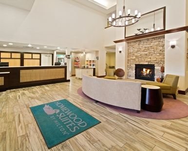 Homewood Suites by Hilton Denver West - Lakewood Hotel, CO - Lobby and front desk