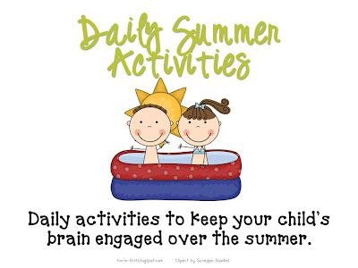 Summer activity calendar: Daily Summer, Activities Charts, For Kids, Free Summer, Kindergarten, Activities Calendar, Activities On, Grade Summer, Kids Summer Activities