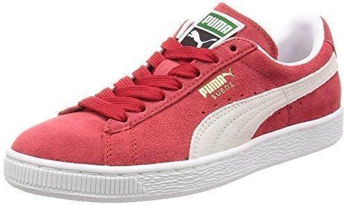 Oferta: 68€ Dto: -17%. Comprar Ofertas de PUMA Suede Classic+ - Zapatillas de cuero para hombre, Rojo (Team Regal Red-White 05), 47 EU (12 UK) barato. ¡Mira las ofertas!
