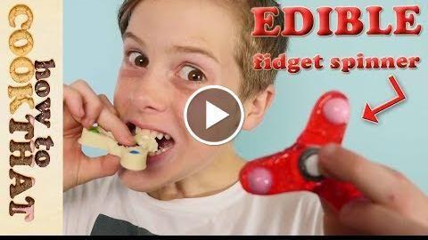 Fidget Spinner TRICKS & how to make EDIBLE - http://thehowto.info/fidget-spinner-tricks-how-to-make-edible/