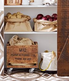 DIY project: Crate on wheels Designed + Styled by Andrea McCrindle  Photography www.michaelnangreaves.com