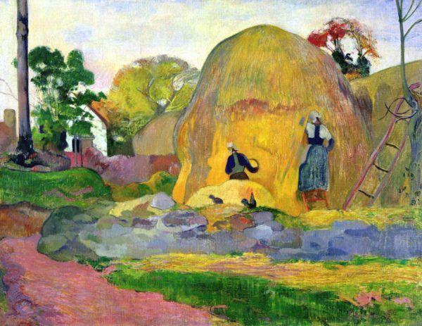 Golden Harvest 1898 | Paul Gauguin (1848–1903)
