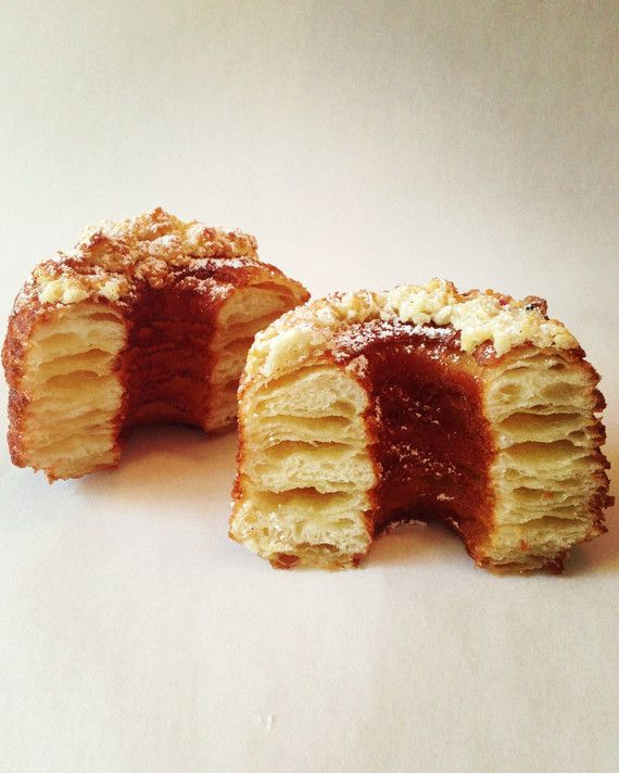 """Cupcakes are old news. The newest sugary sensation to sweep our fair city is the Cronut -- the croissant-doughnut hybrid created by Dominque Ansel at his SoHo bakery last month. With production of the pastry limited to 300 a day, Cronut mania has created long lines and even given rise to a seedy underworld of Cronut scalping. As executive food director Lucinda Scala Quinn says, """"It just shows, if you're clever you can cook up the next cupcake.""""No time to wait in line? Try one of these othe"""