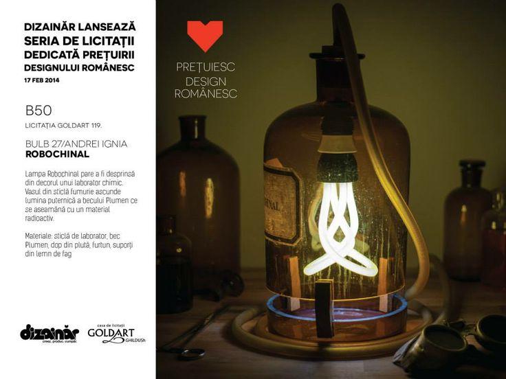 Romanian Design Auction, Feb 17th at Intercontinental