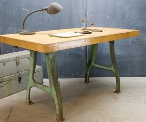 Vintage Industrial Maple Block Table was in Inception Movie