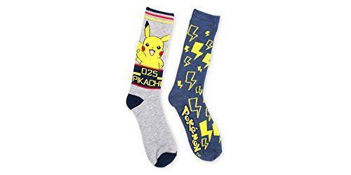 Pokemon 2pk Men's Crew socks | #Apparel #external #Men #Shirts #Sports