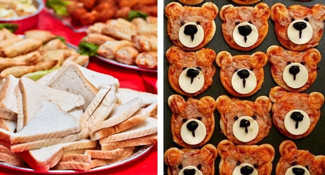 Ideas for a teddy bears' picnic children's party including decorations, games, food and cake to fit the theme.