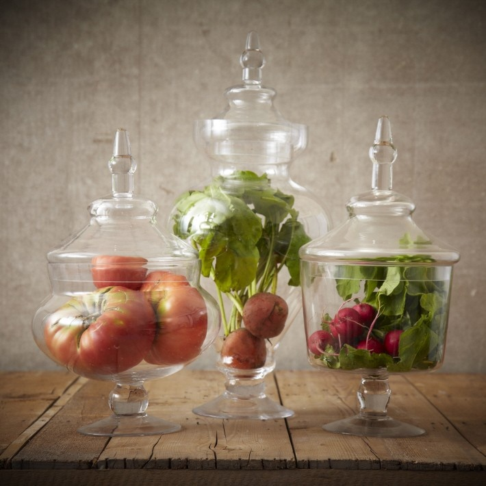 Decorative Vegetable Jars: Apothecary Botanical Jars .. Too Bad We Couldn't Really