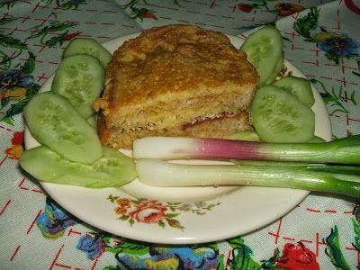 Töltött bundáskenyér vagy bundás szendvicskenyér