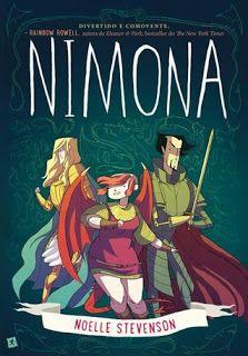 Sinfonia dos Livros: Opinião | Nimona | Noelle Stevenson | Espaço Infan...