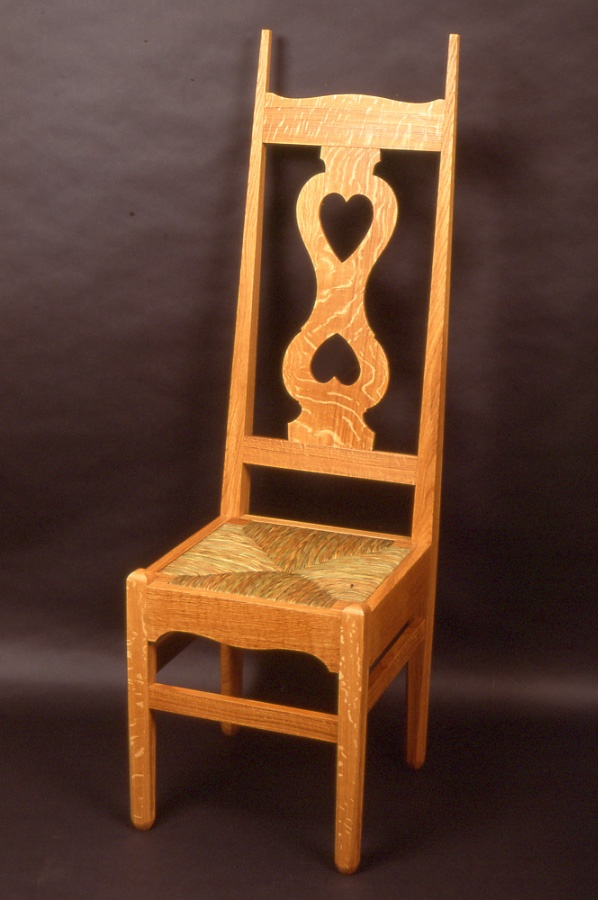 CFA Voysey Two Hearts Chair