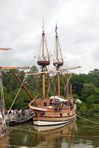 Susan Constant - (Replica ship)