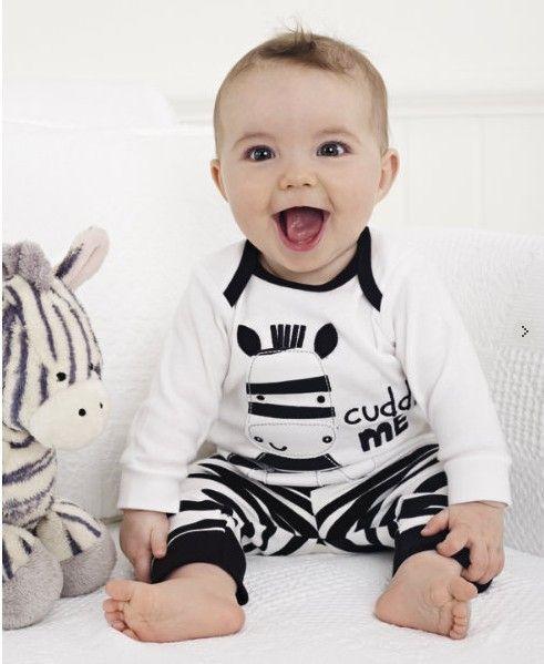 2014 осень ребенок suit/2 piece набор: с длинными рукавами топ с зебра дизайн + полосатые брюки/Шорты продавать стиль купить на AliExpress