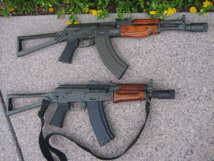 Rifle Dynamics / AK 104 (7.62X39) and its smaller brother, a Tula Krink in 5.45X39