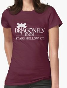 Dragonfly Inn shirt - Gilmore Girls, Stars Hollow, Lorelai, Rory Womens Fitted T-Shirt