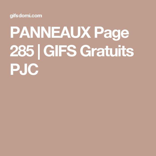 PANNEAUX Page 285 | GIFS Gratuits PJC