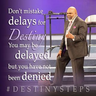 Bishop TD Jakes Potters House - Word for Today Daily Devotional -