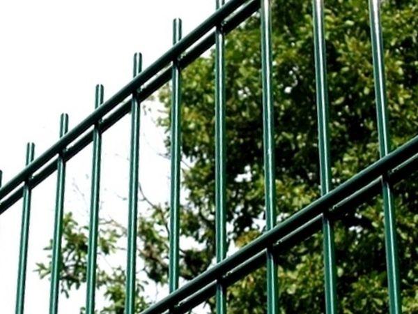 Panele ogrodzeniowe 6/5/6 - 2,03 m - Zielone
