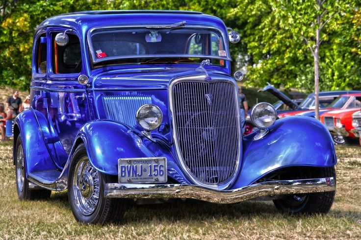 Old Blue - classic cars, automobiles #cars #photography #classic #vintage #award #viewbug