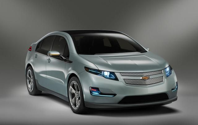 """2012 Chevrolet Volt - $31,645 MSRP ($552 yearly fuel), 95/93 mpg, 884/865 range (35 electric range), 11.8 tank, 149 hp, 273 torque, 177"""" length, 70.4"""" width, 56.6"""" height, bluetooth, auto-dim rearview mirror, aux.  audio input jack, hands-free calling, satellite radio, brake assist, post-collision safety system, OnStar, engine immobilizer, side/curtain airbags, stability control, tire pressure monitoring, traction control, alloy wheels, performance tires, 1-speed direct drive transmission…"""
