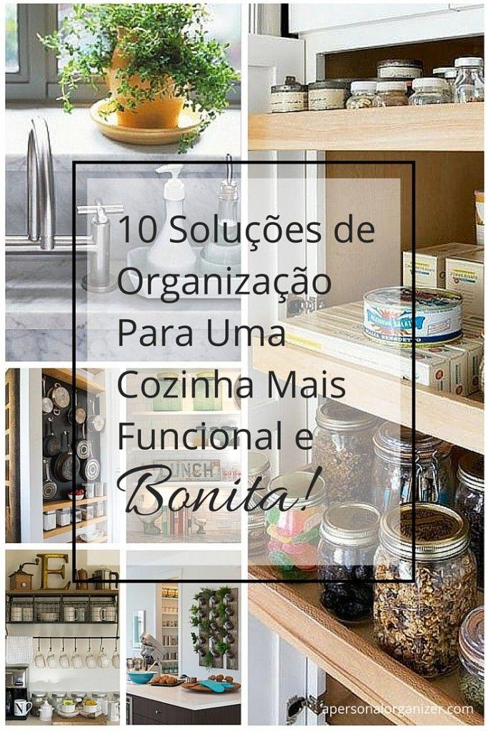 Dicas de organização para a sua cozinha por Helena Alkhas A Personal Organizer