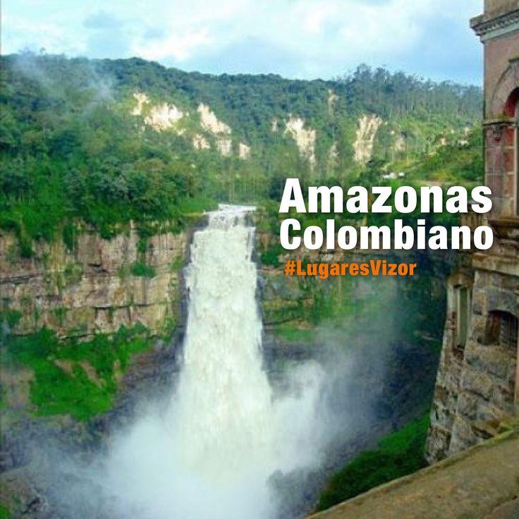 #SabíasQué el #AmazonasColombiano se compone en su totalidad de territorio de la Selva Amazónica. #LugaresVizor  www.vizormobil.com
