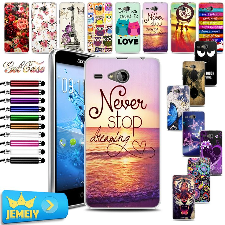Instock Newest TPU Soft Gel Case Skin For Acer Liquid Z520 cell phone case ,UV printed Phone Back cover For Acer Liquid Z520